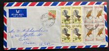 1965 Aukland New Zealand Airmail cover To Erie PA St John Easter Seal