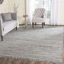 Safavieh Rag Rug Collection RAR121A Hand Woven Grey Cotton Area (3' x 5')