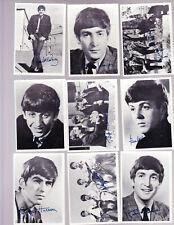 1964 TOPPS BEATLES BLACK & WHITE SERIES 1 COMPLETE 60 CARD SET & 10 CARD BONUS