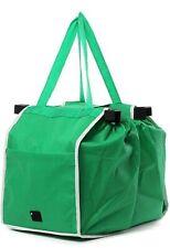 Foldable reusable shopping bag ecofriendly trolley attachment trunk storage 1pk