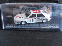 Rally Model Car IXO 1:43 CITROEN BX 4TC Monte Carlo 1986 J. Andruet   [MZ6]