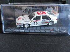 Rally Model Car IXO 1:43 CITROEN BX 4TC Monte Carlo 1986 J. Andruet   [MZ6]