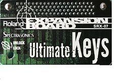 Roland SRX-07 Ultimate Keys, USED, for Fantom, XV, Sonic Cell, no box