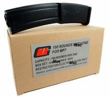 New MAG Box of 6 Pieces 100rd MP7 Magazine for Airsoft Marui AEG