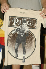 THE RING BOXING MAGAINZE T SHIRT NEW W TAGS MINT SMALL FELT ART DISTRESSED