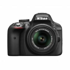 Near Mint! Nikon D3300 with 18-55mm DX VR II Black - 1 year warranty