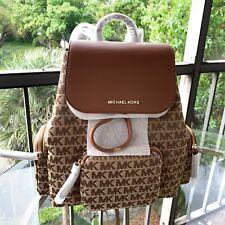 Michael Kors Women Lady Leather Backpack Shoulder School Satchel Handbag Travel