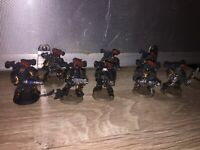 Warhammer 40K Space Wolves Marines Bolters Bolt Gun x 40 A Massive Job Lot Q2