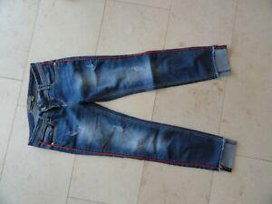 Jeans, Rock Angel, blau, Gr. S (siehe Maße), ungetragen