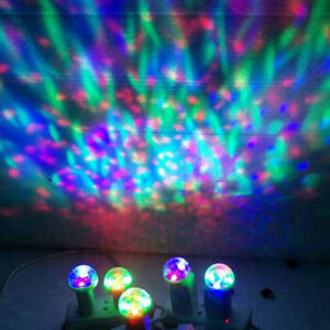 4W Usb Mini Led Disco Stage Light Party Club Dj Ktv Magic Lamp Ball Android  OH