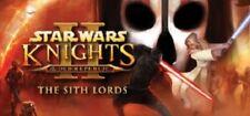 Star Wars Knights of the Old Republic II-la clave de vapor Señores Sith PC MAC [EU]
