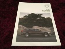 Volvo V90 Cross Country Brochure 2018