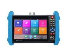 "M-IPC-600E 7"" IP CAMERA TESTER WITH HD-TVI, HD-CVI, AHD, MULTIMETER, HDMI I/O 4K"