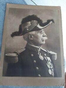 Photo General Bicorne Ganaral Bailly Medaille Superbe