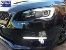 LED DRL Dynamic Indicator Turn Signal Fog Light Bezels Subaru WRX STI 2015+