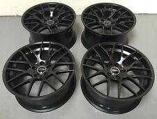 "19"" Veemann VC359 Matt Black Alloy Wheels Fit Bmw 5 Series E60 + M3 M4 M5 M6"