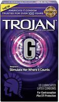Trojan G. Spot Premium Lubricated Condoms - 10 count