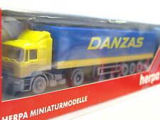 Herpa 187312 MAN Pritschensattelzug Danzas OVP (G5052)