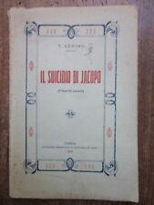 Serino - Il suicidio di Jacopo (Filosofia sociale) - Raffaele De Rose - Cosenza