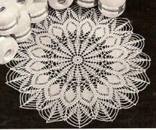 Vintage Crochet Centerpiece Doily #21 Pattern Only