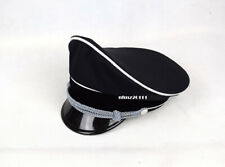 Replica WW2 German Elite Whipcord Officer Cap Hat Sweat Ring Made Leather