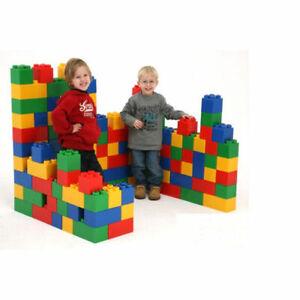 WADER 37510 Bausteinblock XXL 45 Teile Bauklötze Riesen Spielbausteine Bausteine