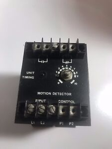 Industrial Solid State Controls Motoin Detector Model 1260
