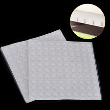 200 Pcs 8x3mm Clear Self-Adhesive Rubber Bumpers Round Pad Feet Buffer Furniture