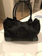 Tory Burch  Mini Ella Nylon Tote Black