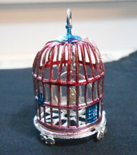 Vintage Germany Soft Metal Bird Cage