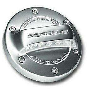 Neuf Authentique Porsche Aluminium Aspect Bouchon de Réservoir 986 987 Boxster