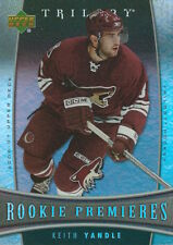 (HCW) 2006-07 Upper Deck Trilogy #134 KEITH YANDLE Rookie NHL Hockey 00979