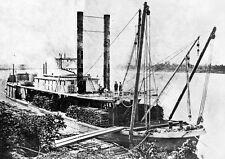 FAR WEST, Heckraddampfer des Missouri 1876