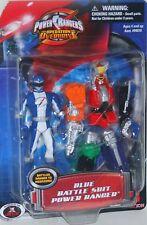Power Rangers Operation Overdrive 4 Inch Blue Battle Ranger to Megazord New