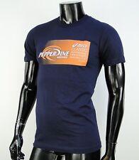 Oasics Skate Co. Blaue Navy Mens T shirt size Small
