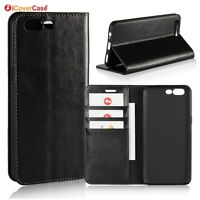 Luxury Genuine Leather Wallet Flip Case Stand Cover For OnePlus 5 5T
