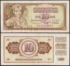 YUGOSLAVIA/JUGOSLAVIA 10 DINARA 12/8/1978