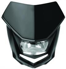 POLISPORT 8667100002 HALO HEADLIGHT BLACK/LED BULBS