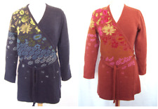 OILILY Strickjacke für Damen Gr. S M L XL NEUWARE warme Wolljacke Strick Jacke