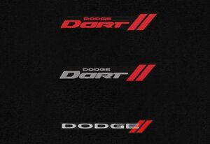 Dodge Dart Floor Mat Set 4 Pce Choose Front Logo