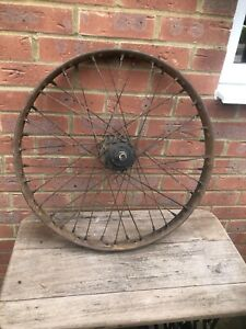 Vintage Veteran Triumph Model P Rear Wheel