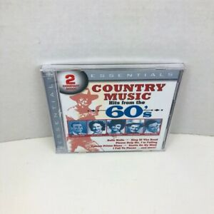 Country Music Hits From The '60s Various Artists CD 2 Disc Set New Sealed