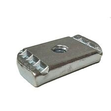 "(100) 1/4""-20 No Spring Strut Channel Nut Zinc Plated For Unistrut/B-Line P3006"