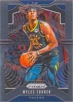 Myles Turner 2019-20 Prizm Basketball Chrome Base Card #216 Indiana Pacers