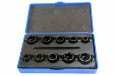 "BERGEN 10pc DAMAGED ROUNDED NUT & BOLT REMOVER SOCKET SET 3/8""dr Extractor"
