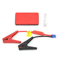 8000mAh 12V Portable Car Jump Starter Power Bank Battery Booster Charger Clamps