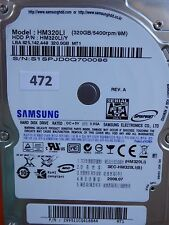 320gb samsung hm320li/y | p/n: 299511cq418864 mt1 | 2008.07 #472