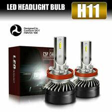 Super Bright HID H11 H8 H9 LED Headlight Kits 12000LM Lights Power 6000K White
