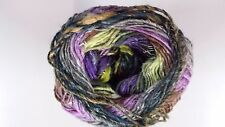 Noro Silk Garden Sock Yarn #S398 Purple Lilac Lime Grey Tan Tones 100g