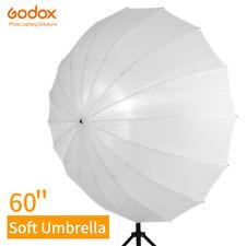 Godox 60 White Studio Translucent Soft Umbrella with Large Diffuser Cover
